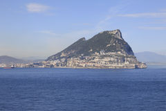 Rocher de Gibraltar Photographie stock