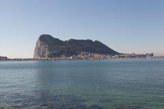 Rocher de Gibraltar Photo libre de droits