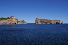 Rocher Percé Photos stock
