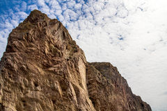Rocher Perce Pierced Rock natural stone top Royalty Free Stock Photo
