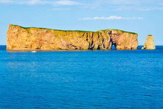 Rocher Perce, Quebec. Rocher Perce in Gaspesie, Quebec, Canada Royalty Free Stock Photos