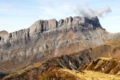 Rochers de Fiz nel massiccio di Chamonix Montblanc della riserva naturale di Sixt Passy Fotografie Stock