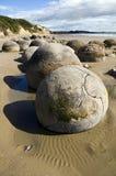 Rochers de Moeraki Image stock