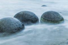 Rochers de Moeraki Image libre de droits