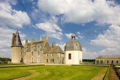 Rochers Sevigne Schloss stockfotografie