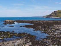 Roches à Aberystwyth Photographie stock libre de droits