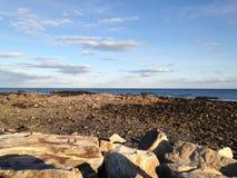 Roches à marée basse Image stock