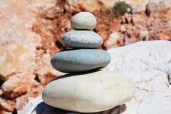 Roches équilibrées Photographie stock
