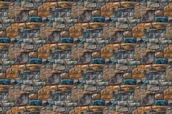 Roches au mur Photos stock