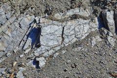 Roches avec des pierres structures Un fond, été Susuman La région de Magadan Kolyma IMG_9363 Image libre de droits