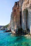 Roches bleues de cavernes photos stock