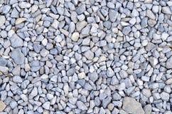 Roches bleues de gravier Photographie stock libre de droits