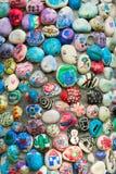 Roches colorées Photographie stock libre de droits