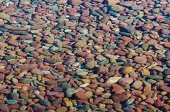 Roches colorées Photo stock