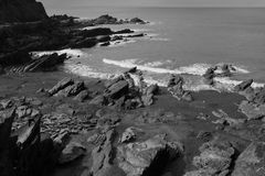 Roches d'Ilfracombe Images stock
