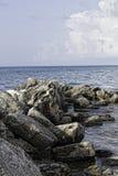 Roches dans l'eau 1 Image libre de droits