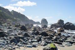 Roches dans l'extrémité de terres, San Francisco Image stock