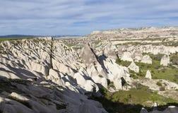 Roches dans la vallée de l'amour Cappadocia La Turquie Image stock
