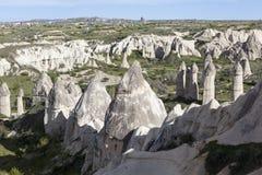 Roches dans la vallée de l'amour Cappadocia La Turquie Image libre de droits