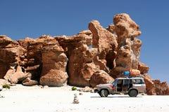 Roches dans le désert Photographie stock libre de droits