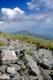 Roches dans les montagnes Photos stock