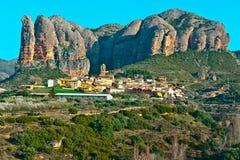 Roches dans les Pyrénées Photos libres de droits