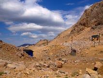 Roches de Bariloche Photographie stock libre de droits