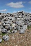 Roches de basalte Images libres de droits