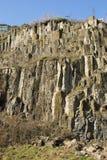 Roches de basalte Image libre de droits