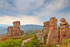 Roches de Belogradchik Photo libre de droits