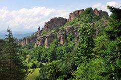 Roches de Belogradchik Image libre de droits
