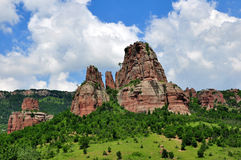 Roches de Belogradchik Images libres de droits