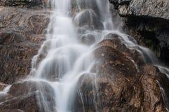 Roches de cascade Photos libres de droits