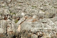 Roches de chaux à Malte Photo libre de droits