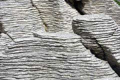 Roches de crêpe de Punakaiki, Nouvelle Zélande photos libres de droits