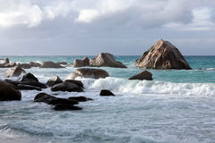 Roches de granit Images libres de droits