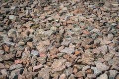 Roches de granit Images stock