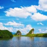 Roches de Krabi Photo stock