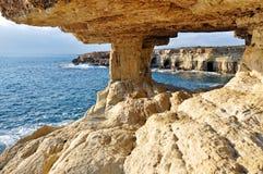 Roches de la Chypre Photo libre de droits