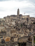 Roches de Matera Photo libre de droits