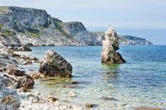 Roches de mer Images libres de droits