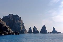 Roches de mer Photo libre de droits