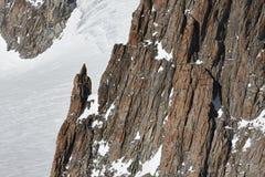 Roches de montagne Images stock