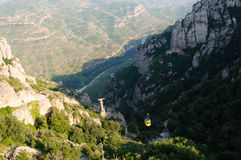 Roches de Montserrat Photo stock