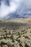 roches de nuages Photos stock
