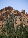 Roches de Pepperpot en parc national de canyon rouge, Utah, Etats-Unis Photos libres de droits