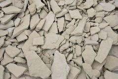 Roches de pierre à chaux Images libres de droits