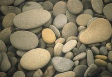 Roches de plage Photographie stock libre de droits