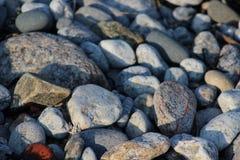 Roches de plage Image libre de droits