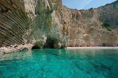 Roches de plage de paradis Images libres de droits